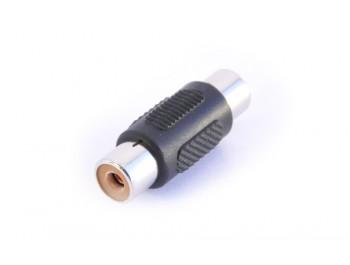 Adapter RCA-hona - RCA-hona - finns på kabelbutiken.com