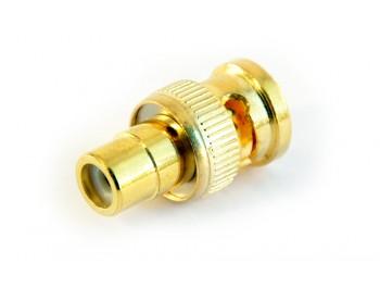 Adapter RCA hona - BNC hane - finns på kabelbutiken.com