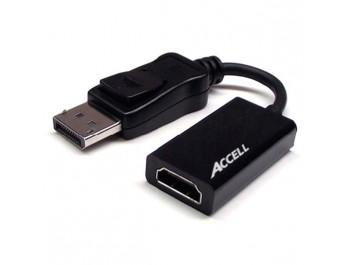 ACCELL DisplayPort till HDMI med ljud