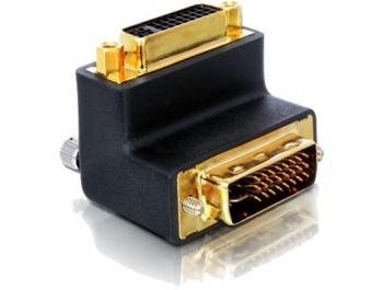 Vinklad DVI-adapter