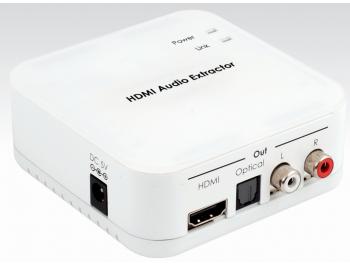 HDMI-separering av ljudet