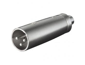 Adapter XLR-hane - RCA-hona