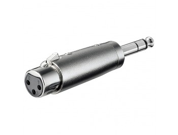 Adapter XLR-hona - 6.35mm Tele hane
