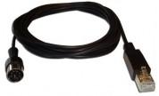 Powerlink-kabel hane => RJ45 hane 0,5m