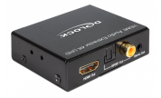 HDMI-ljud separering/extractor Toslink/Coax + Stereo