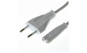 Apparatkabel 230v IEC C7 10 m Vit