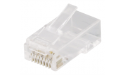 Modularkontakt Cat6a/RJ45 UTP Patch med loadbar