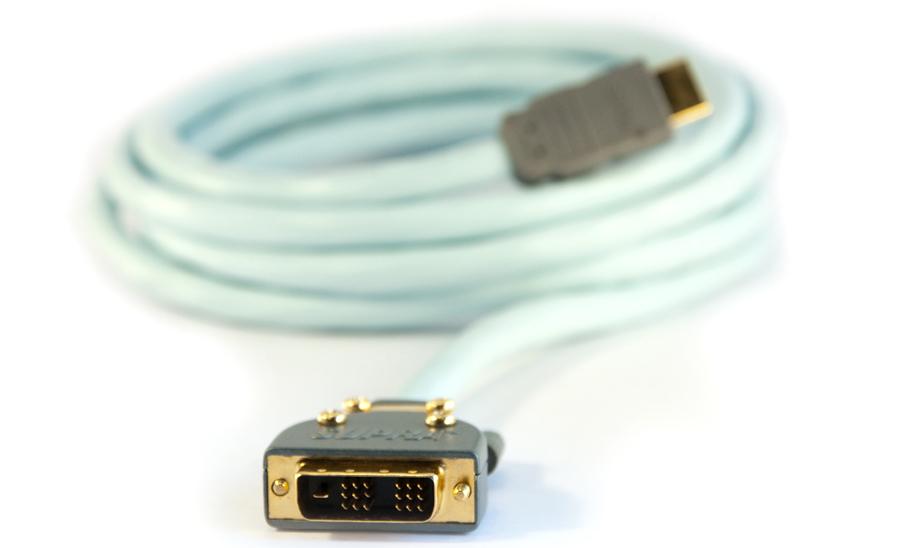 Supra HDMI-kabel till DVI 1 m