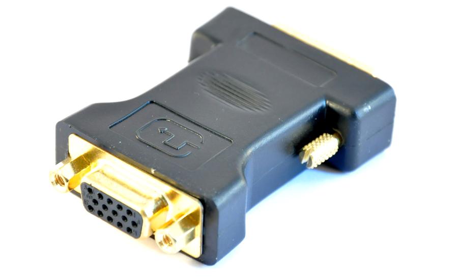 DVI - VGA-adapter