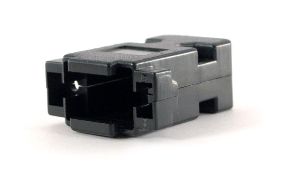 D-Sub DE-15F / DE-9 Plastkåpa 9pin / 15pin VGA