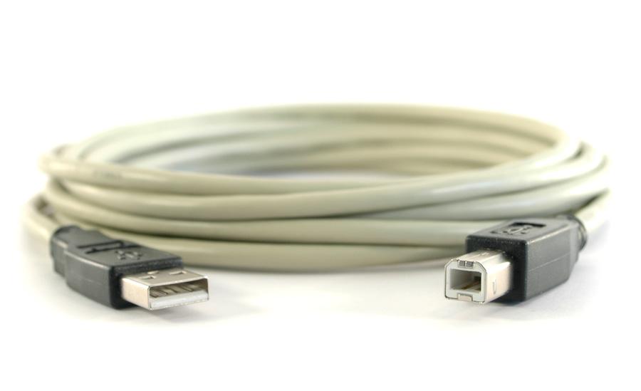 USB 2.0-kabel A hane - B hane 0.5 m