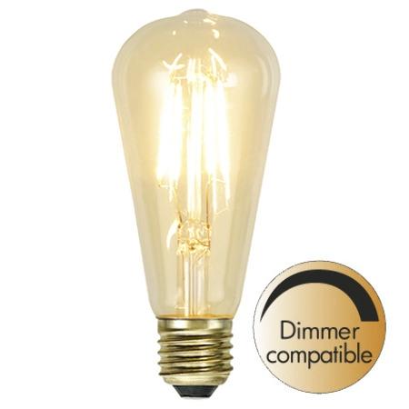 Led-Lampa Filament E27 140lm 1,5w 2100k Soft-Glow Dimbar