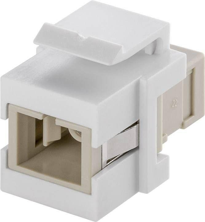 KeyStone fibre optic 2x SC-Simplex female