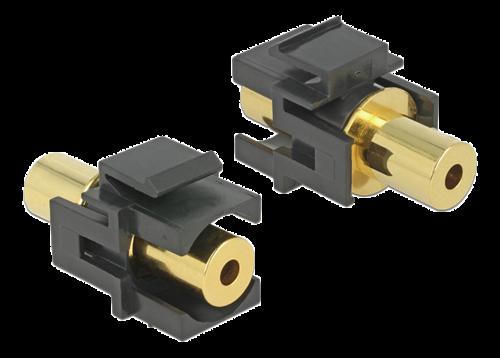 3,5mm 4-pin hona uttag Keystone