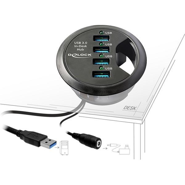 USB 3.0 In-Desk hub
