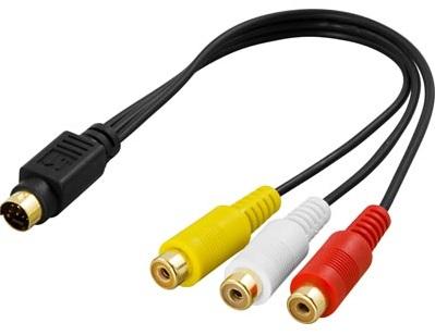 Videoadapter för Grafikkort 7-pin