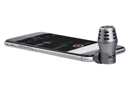 BOYA BY-A100 mikrofon avsedd för iPhone