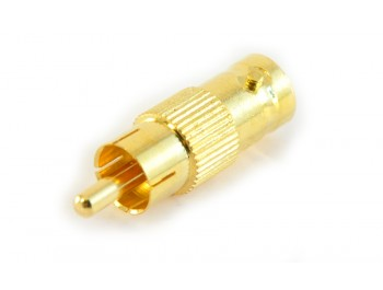 Adapter RCA hane - BNC hona - finns på kabelbutiken.com
