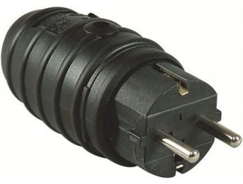 Stickpropp Jordad Slagtåligt gummi IP44