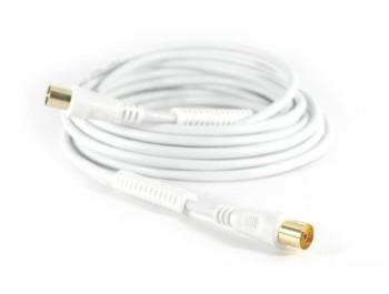 Antennkabel 100Hz ferritkärnor 5m | Kabelbutiken.com