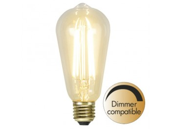 Led-Lampa Filament E27 320lm 3,6w 2100k Soft-Glow