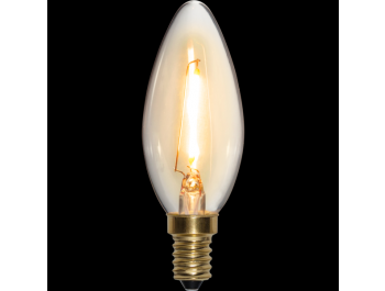 Led-Lampa Filament E14 70lm 0.8w 2100k Soft-Glow