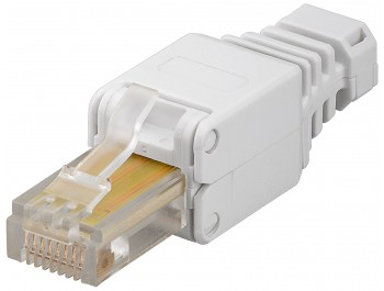 Modularkontakt Cat5e/RJ45 UTP Tooless