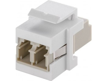 KeyStone fibre optic 2x LC-Duplex hona
