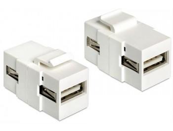 USB 2.0 Typ A uttag Keystone
