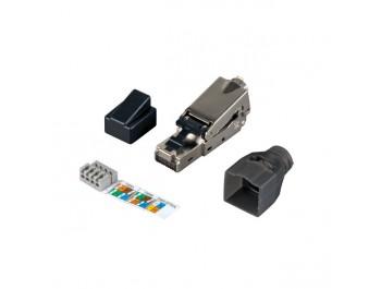INFRALAN® Cat.6 RJ45 kontakt STP för fältmontering