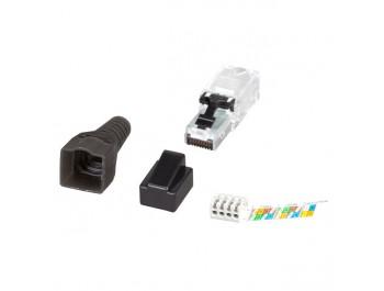 Ecolan® Cat.6 RJ45 kontakt UTP för fältmontering