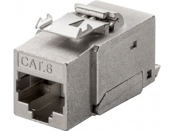 Keystone Modularkontakt RJ45 STP Cat6 Tool-Free