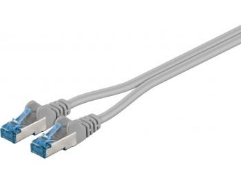CAT 6a Duplex- patch kabel, S/FTP (PiMF)