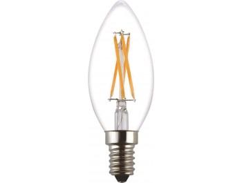 Filament Led-Lampa, Kron, 2W, E14, 230V