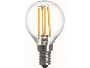 Filament  Led-Lampa, Klot, 2W, E14, 230V, MB