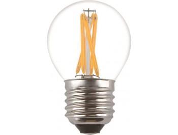 Filament Led-Lampa, Klot, 4W, E27, 230V