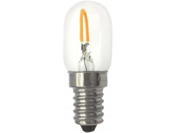 Filament Led-Lampa, Päron, 0,5W, Klar, 230V