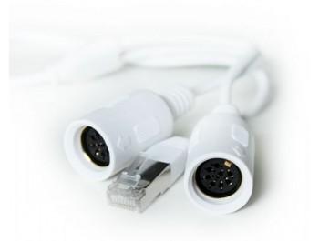 Powerlink-kabel x2 hona => RJ45 hane 0,3m