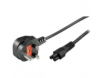 UK apparatkabel - BS 1363 till rak IEC 60320 C5 3meter