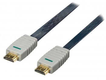 Platt HDMI-kabel Bandridge