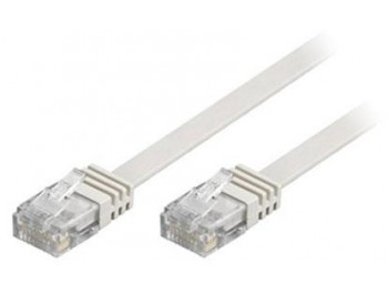 Nätverkskabel UTP Cat6 platt 15 meter
