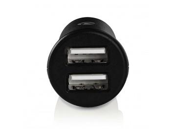 USB-laddare för bil - miniformat