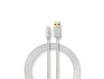 Lightning till USB-A-kabel - Synkroniserings- och laddningskabel