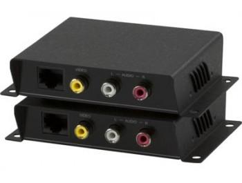 Signalförstärkare Kompositvideo och ljud - 600 m