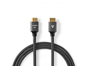 Nedis HDMI-kabel 8K - 1 meter