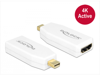 DeLOCK Ultra HD Mini DisplayPort till HDMI med ljud