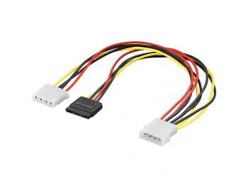 Strömkabel SATA & ATA-133 HDD