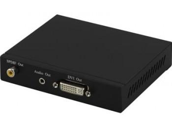 HDMI till DVI-I + S/PDIF + 3,5mm omvandlare