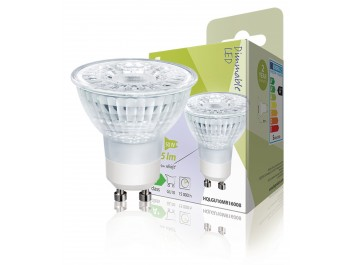 Dimbar LED-lampa i halogenstil MR16 GU10 5 W 345 lm 2 700 K