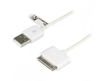 USB-synk-/laddarkabel till iPhone och iPod 1m